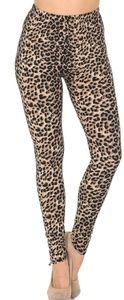 Cheetah Print Leggings Size 0-12